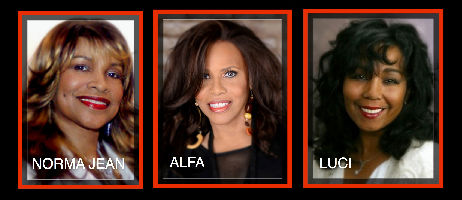 Former Ladies of Chic: Norma Jean, Wright, Alfa Anderson; Luci Martin; The First Ladies of Disco